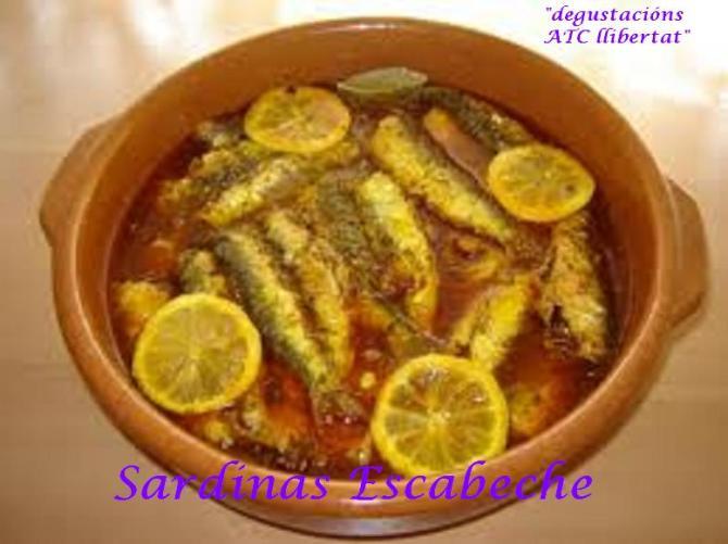 sardina escabeche