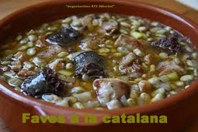 Faves a la catalana