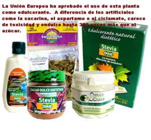 edulcorantes stevia