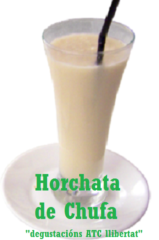 Vaso de horchata
