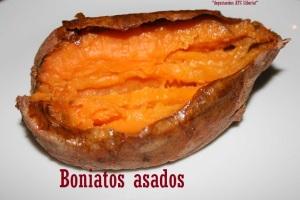 Boniatos asados
