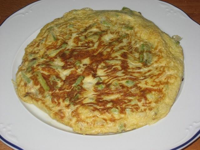 Tortilla de esparragos trigueros