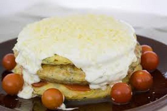 pastel tortillas